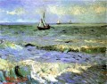 Vincent van Gogh Seascape bei Saintes Maries